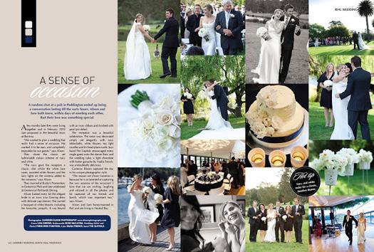 Shots! Real Weddings magazine
