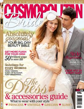 Cospolitan Bride cover 2011