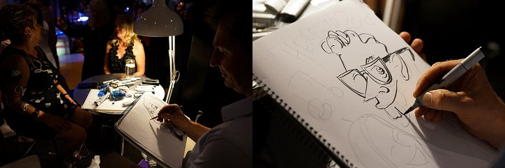event artist, caricatures, event caricatures, sydney opera house view, venues with view of sydney opera house, cocktail party, cocktail party ideas, furniture hire, decor hire, styling hire, quay, quay events, sydney cocktail party venues, event designers, event stylists sydney, cocktail furniture hire, costume hire, party ideas, party costumes, event stylist, sydney event stylist