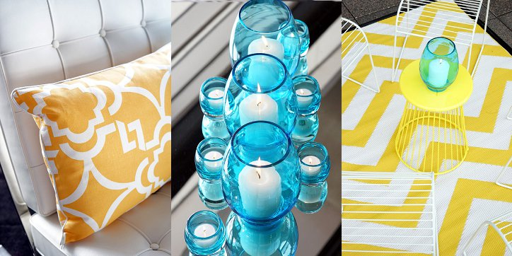 cocktail party, cocktail party ideas, chevron rugs for hire, cushions for hire, barcelona chair for hire, candleholders for hire, aqua decorations, yellow decor, furniture hire, decor hire, styling hire, quay, quay events, sydney cocktail party venues, event designers