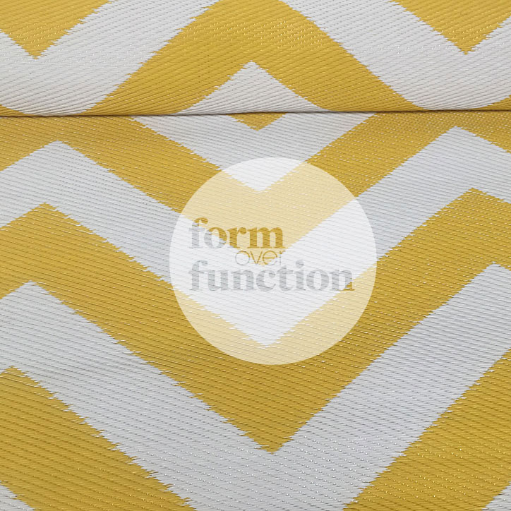 yellow and white chevron outdoor rug : rcrw2 from formoverfunction.com.au size 724 x 724 jpeg 148kB