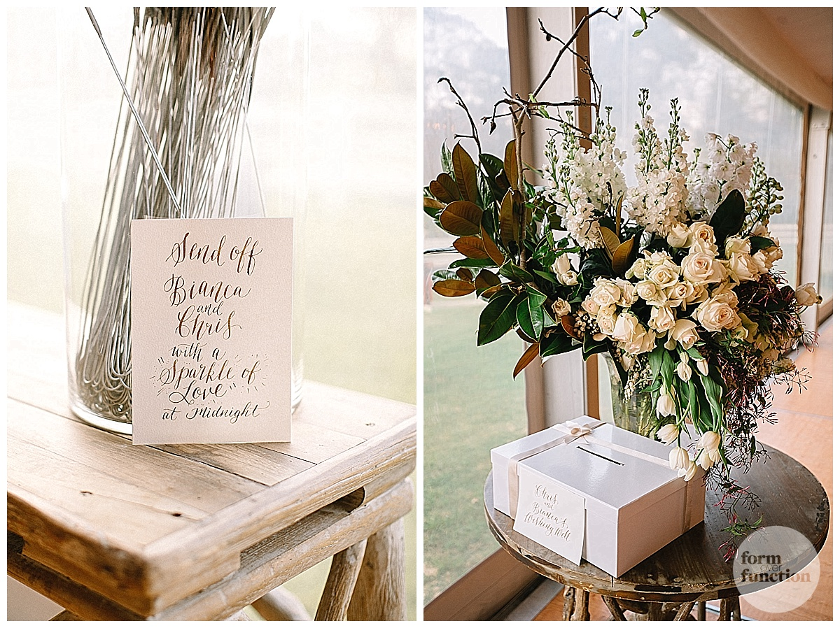Wedding Styling by Form Over Function