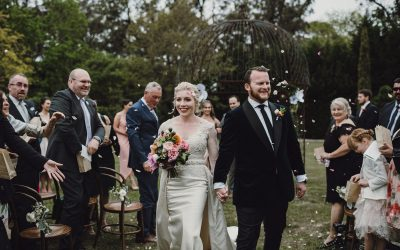 As seen on polka dot bride  Private Residence Southern Highlands – Charlotte + Adam