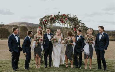 AS SEEN IN WHITE MAGAZINE – Bendooley Estate Wedding – Maddie + Sean