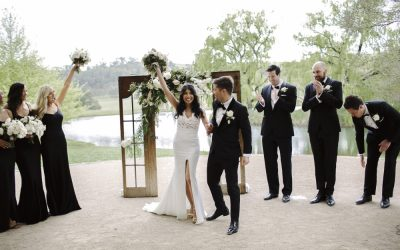 As seen on polka dot bride  How to Plan a Black Tie Wedding